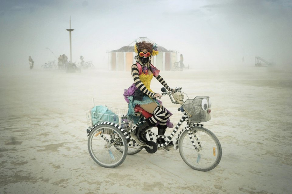See Crazy, Surreal Photos and Videos from Burning Man 2015 14