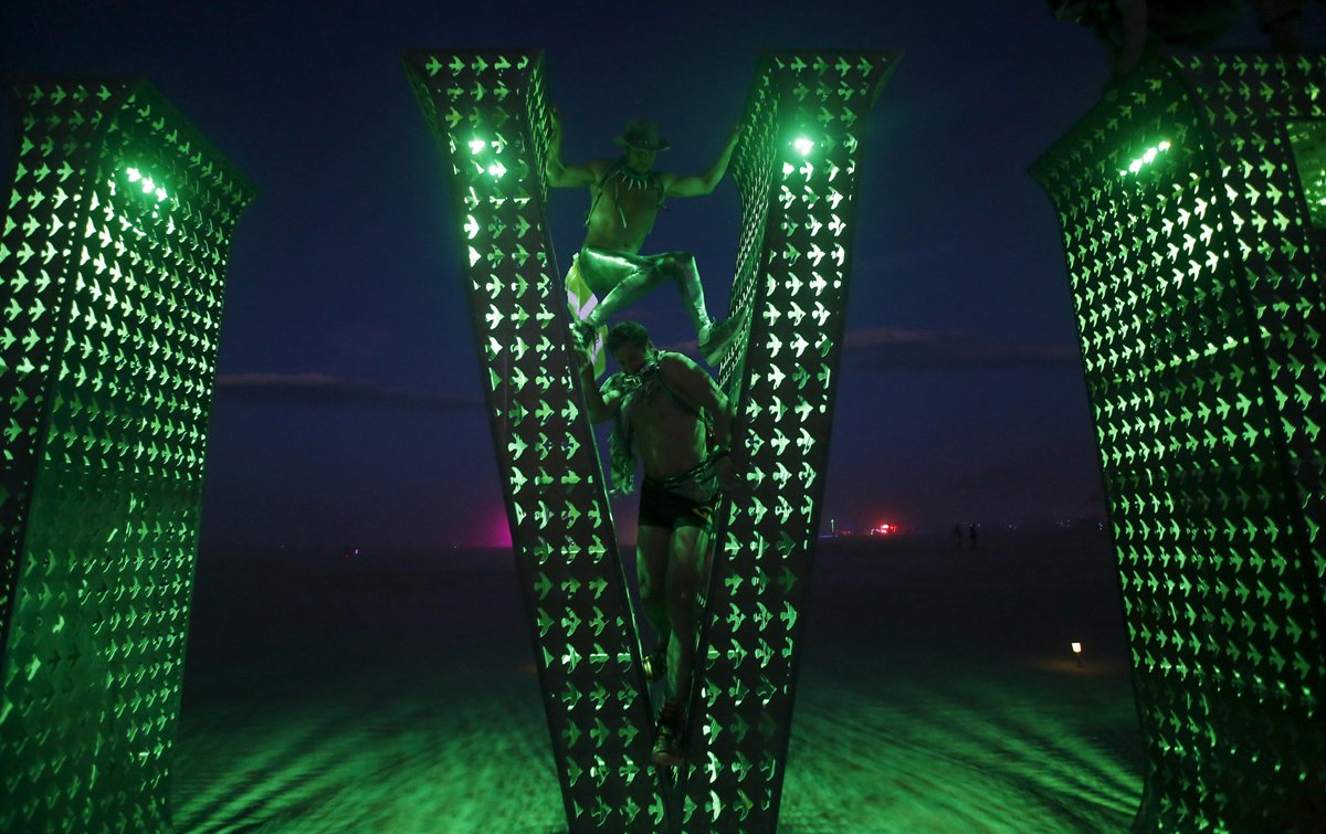 See Crazy, Surreal Photos and Videos from Burning Man 2015 18