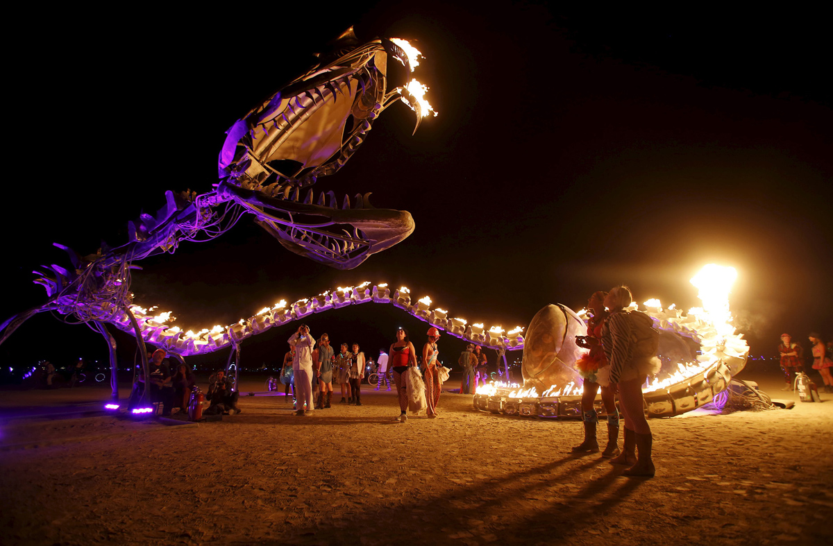 See Crazy, Surreal Photos and Videos from Burning Man 2015 23