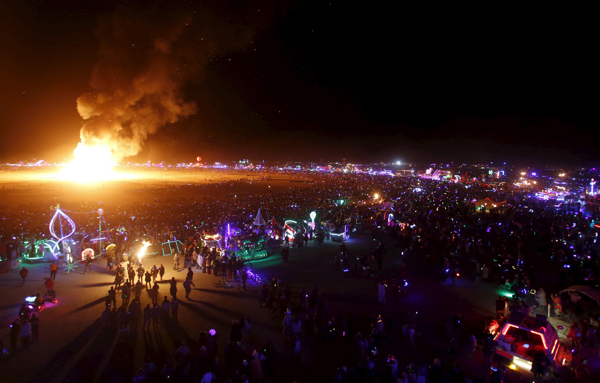 See Crazy, Surreal Photos and Videos from Burning Man 2015 25
