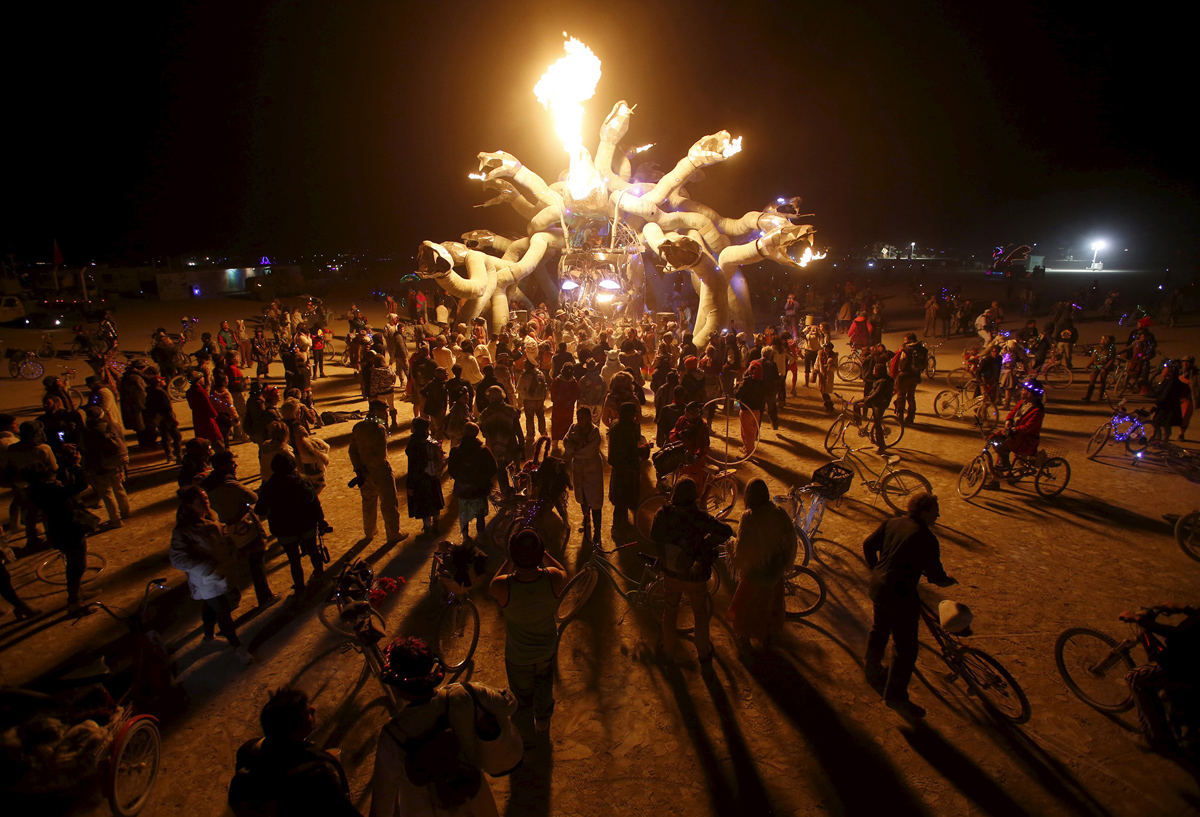 See Crazy, Surreal Photos and Videos from Burning Man 2015 26