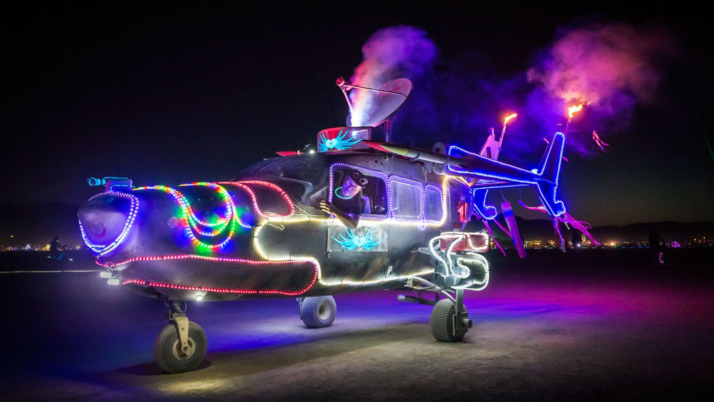 See Crazy, Surreal Photos and Videos from Burning Man 2015 6