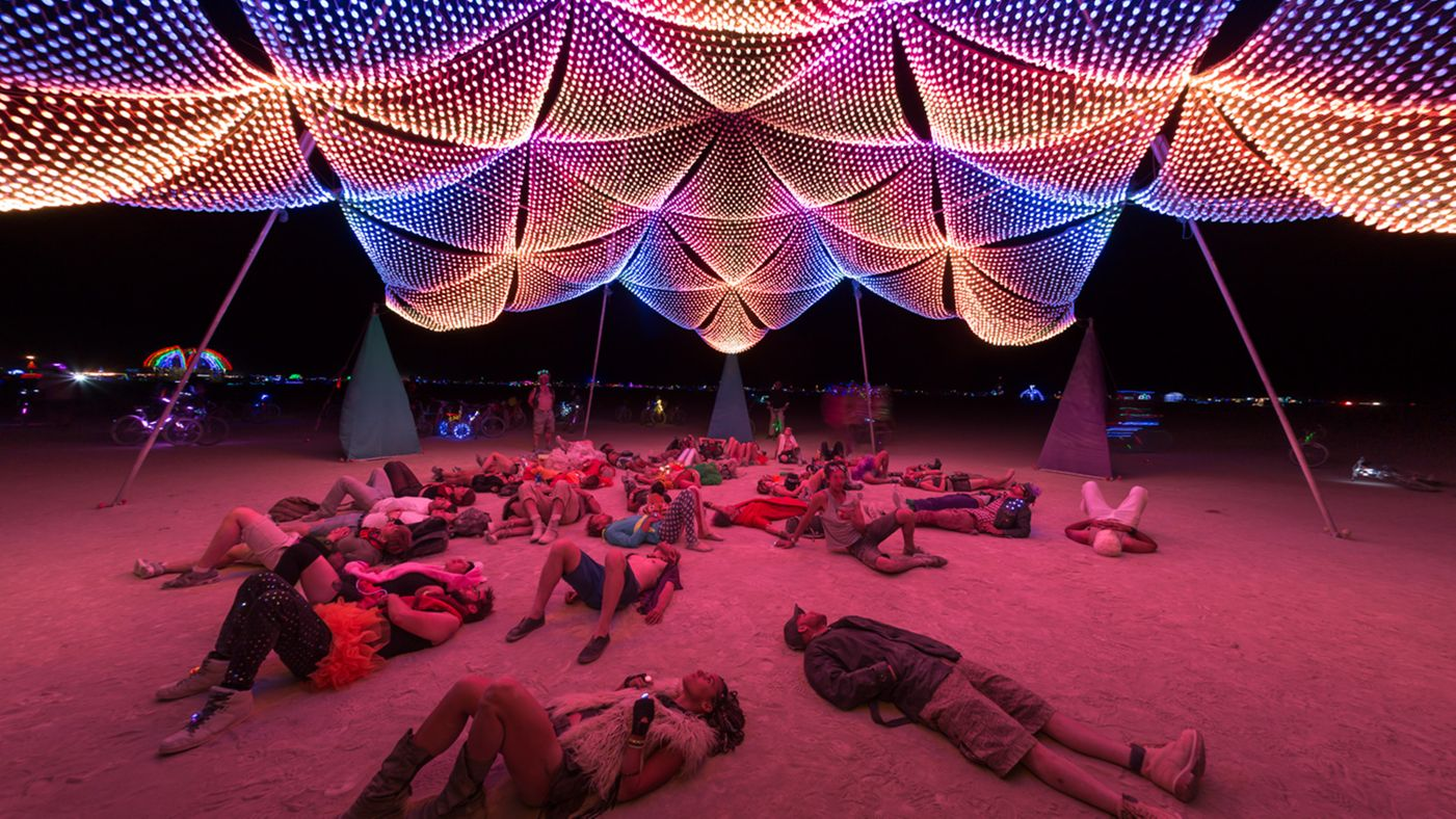 See Crazy, Surreal Photos and Videos from Burning Man 2015 7