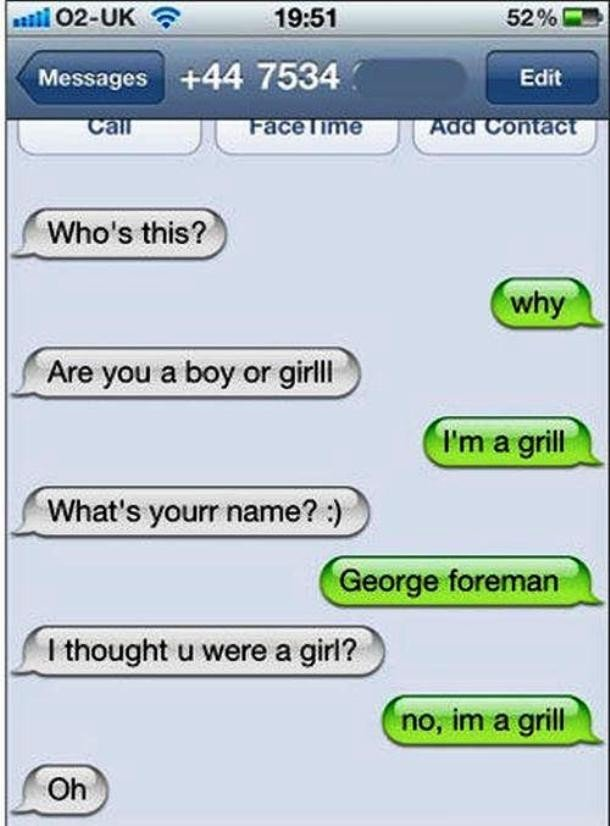 20 Best Responses To Wrong Number Texts 12