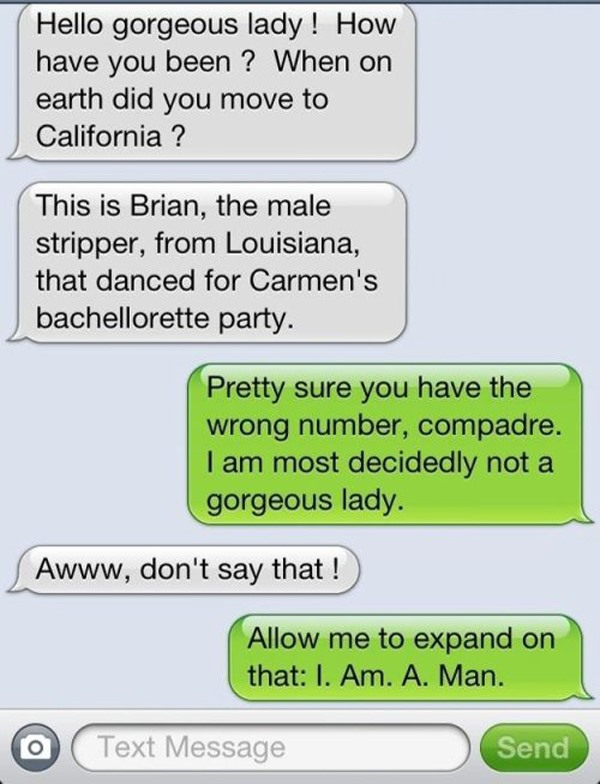 20 Best Responses To Wrong Number Texts 2