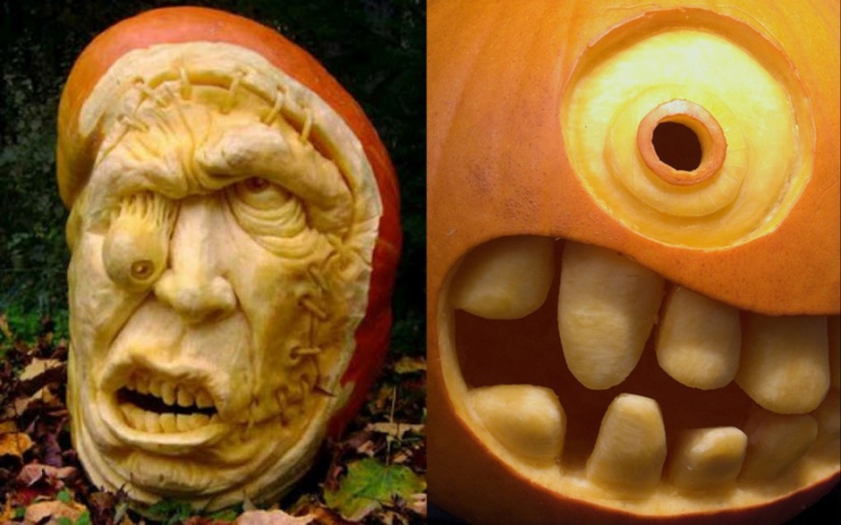 Mindblowing Halloween Pumpkin Carvings 4