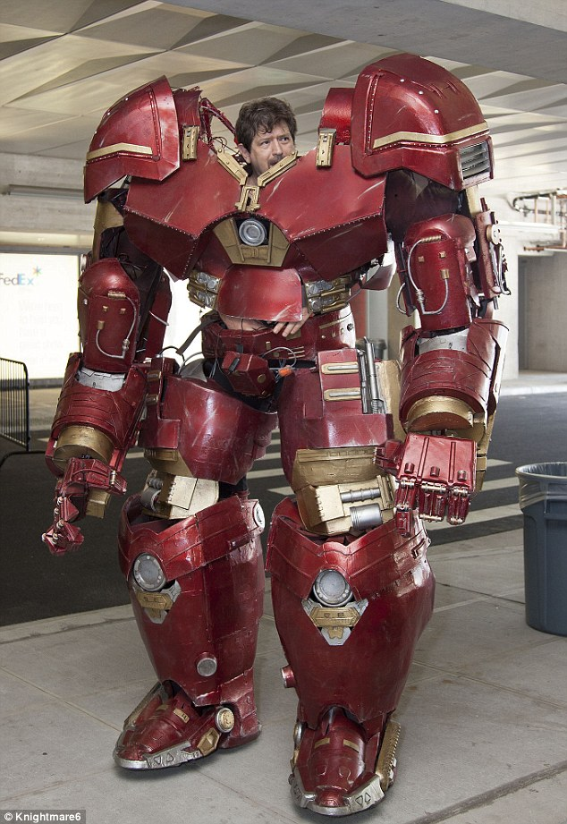 This Hulkbuster Costume Is The Most Realistic Cosplay Of