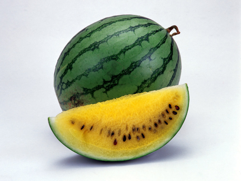 4. Yellow watermelon 1