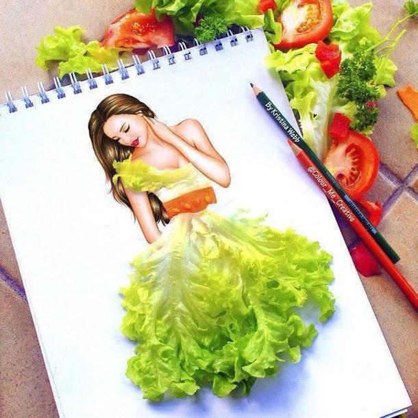 Absolutely Creative Dress Paintings Of Kristina Webb 12