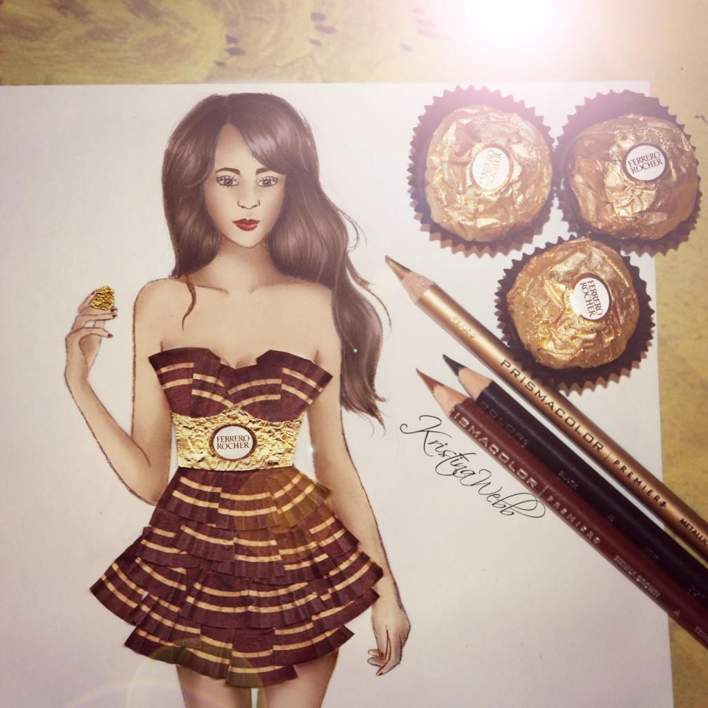 Absolutely Creative Dress Paintings Of Kristina Webb 2
