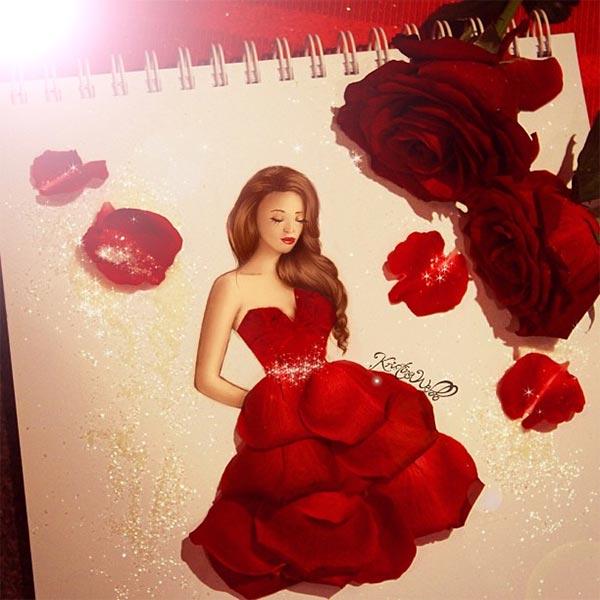 Absolutely Creative Dress Paintings Of Kristina Webb 6