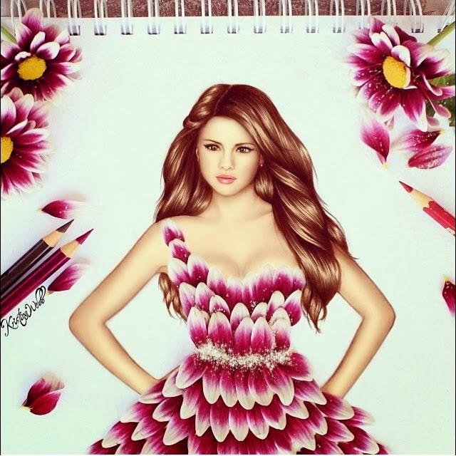 Absolutely Creative Dress Paintings Of Kristina Webb 8