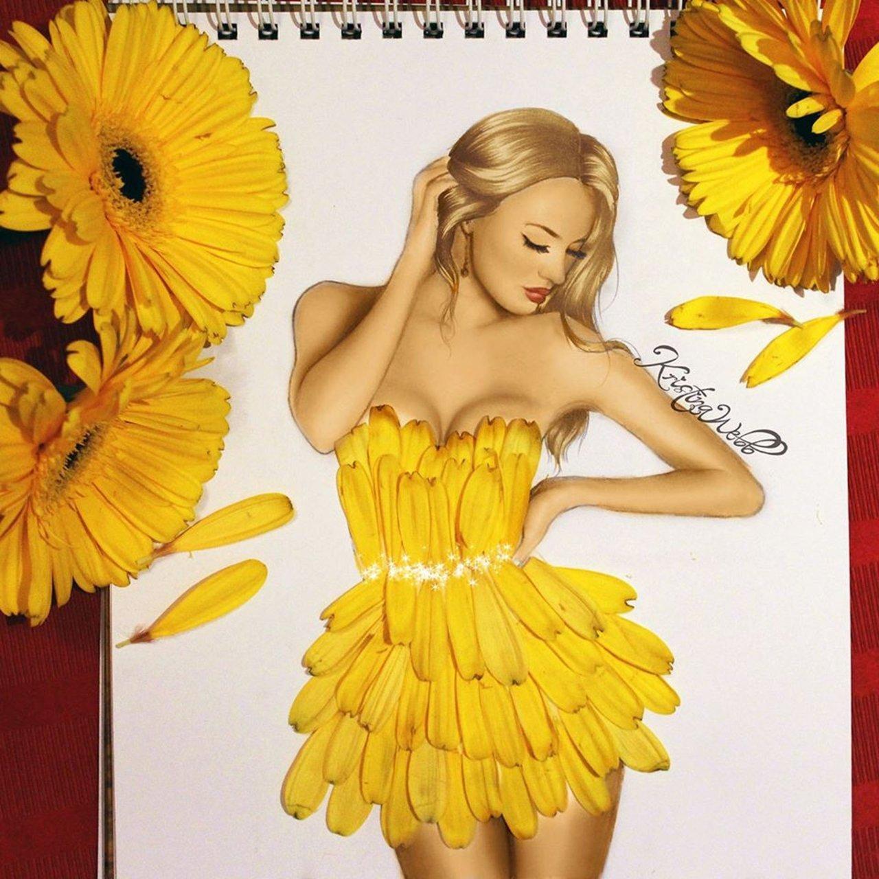 Absolutely Creative Dress Paintings Of Kristina Webb 9