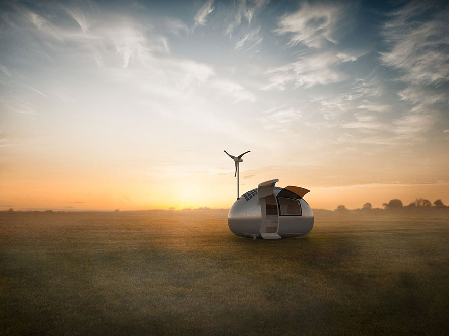 This Spacecraft-Like Micro-Home Will Amaze Sci-Fi Fans 1