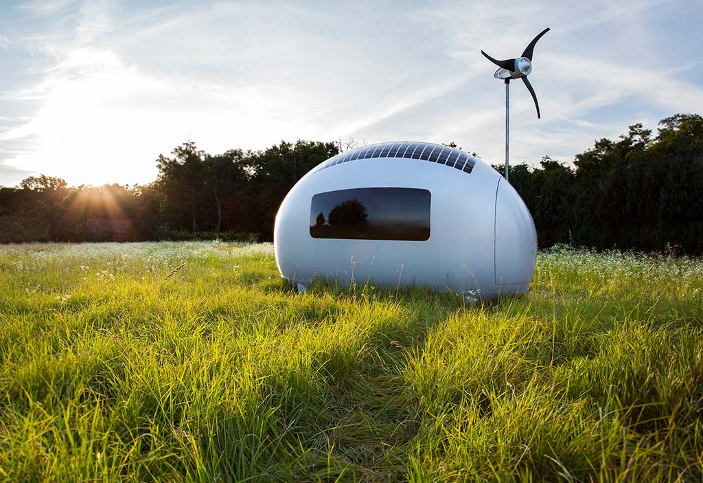 This Spacecraft-Like Micro-Home Will Amaze Sci-Fi Fans 10