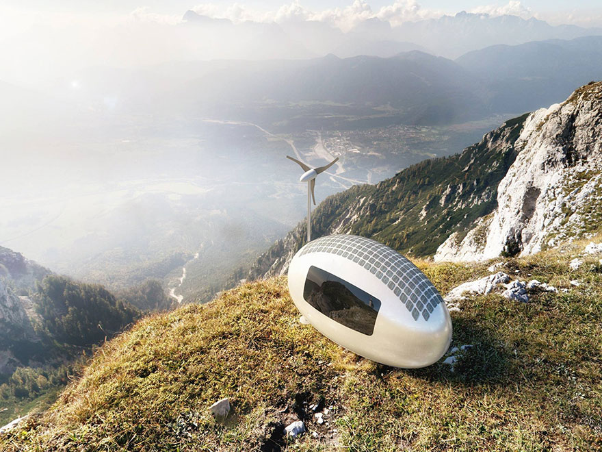 This Spacecraft-Like Micro-Home Will Amaze Sci-Fi Fans 2