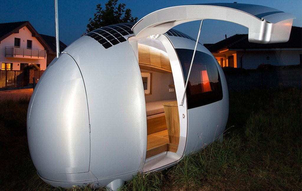 this spacecraft like micro home will amaze sci fi fans 3 - Micro Home