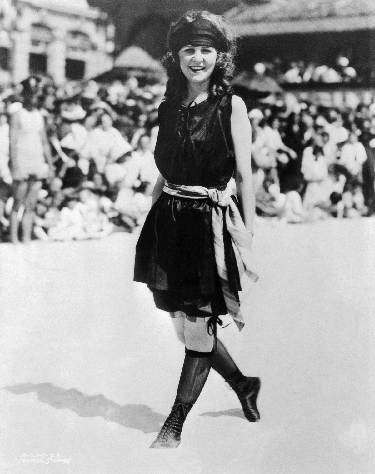 01 Sep 1937, Washington, DC, USA --- Margaret Gorman, First Miss America (of 1921) --- Image by © Bettmann/CORBIS