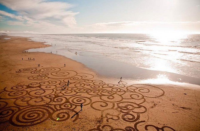 Stunning Beach Artworks By Andres Amador 5
