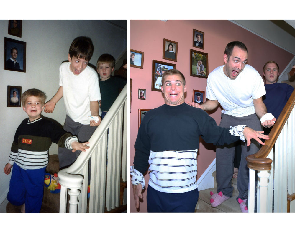 three-brothers-reenact-their-childhood-photos -as-a-gift-for-their-mother-13