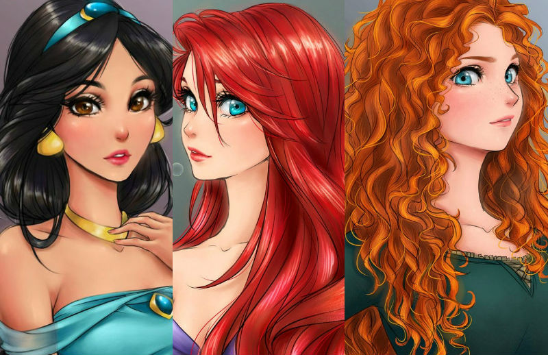 This Is What Disney Princesses Would Look If They Were
