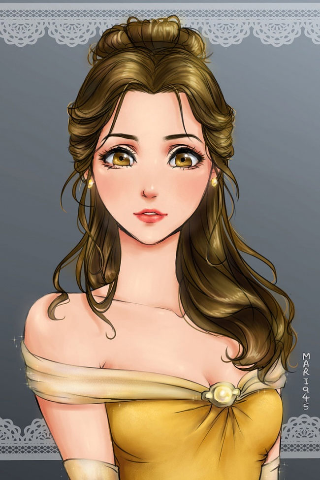 this-is-what-disney-princesses-would-look-if-they-were-anime-characters-07
