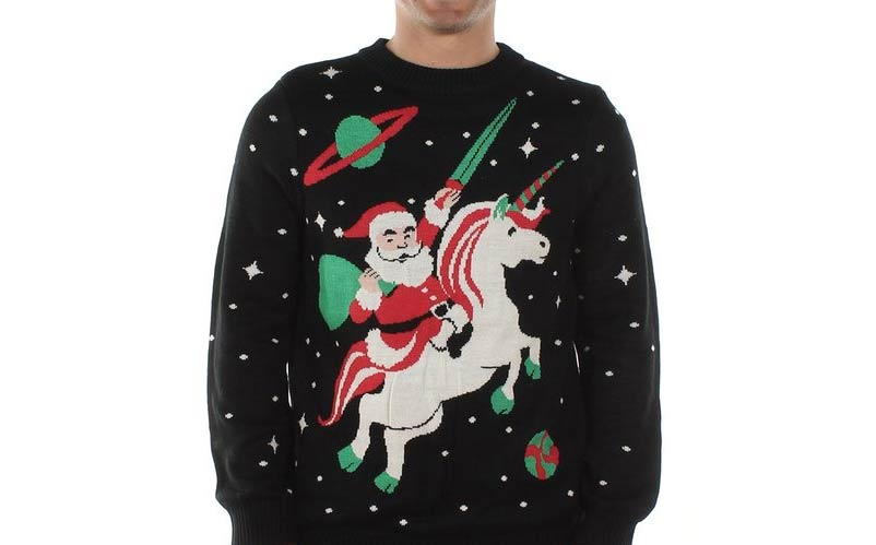 geeky-ugly-christmas-sweaters-11-santa-unicorn