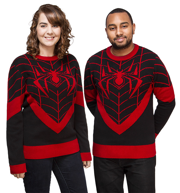geeky-ugly-christmas-sweaters-13-marvel-spider-man