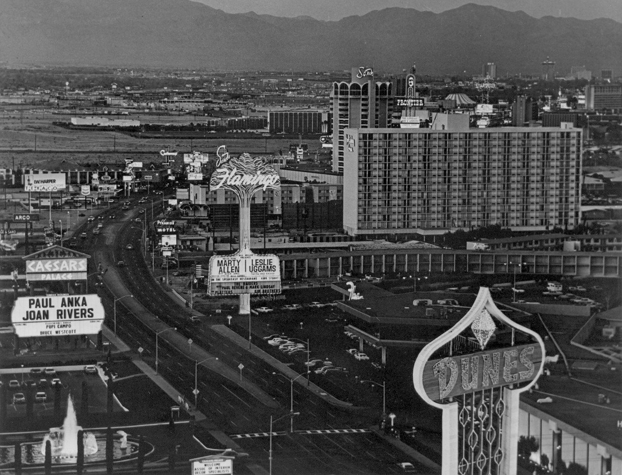 Las Vegas Strip Through The Years