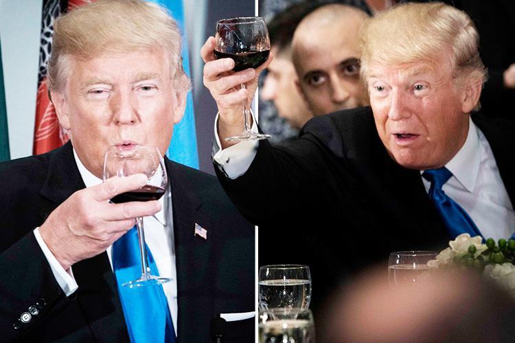 6 Weird Eating Habits Of Donald Trump #6 | Brain Berries