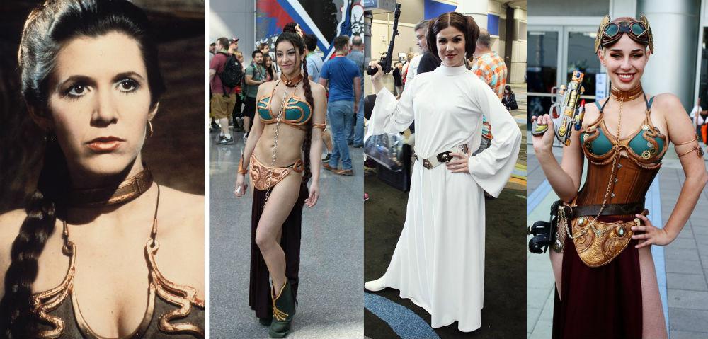 Princess Leia | Cele Mai Populare Personaje Feminine Costumate | Brain Berries