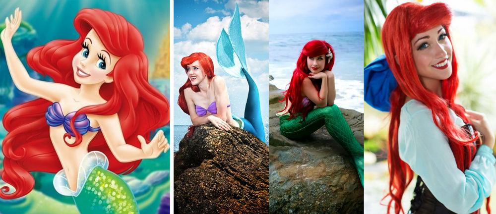 Ariel | Cele Mai Populare Personaje Feminine Costumate | Brain Berries