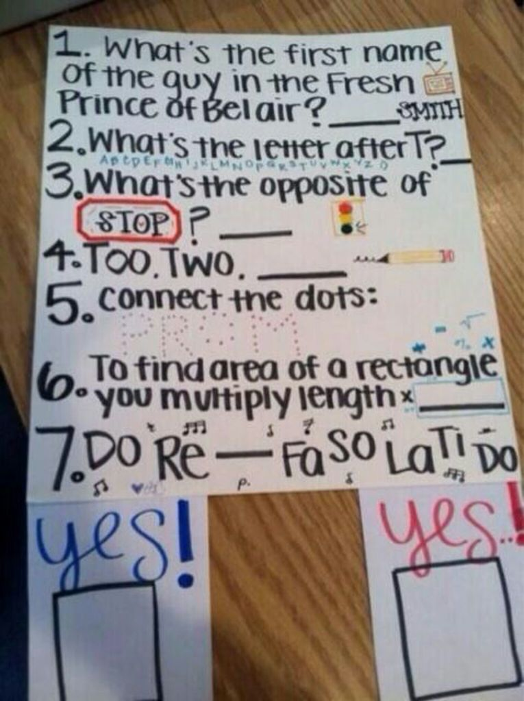 Awesome ways to ask a girl out