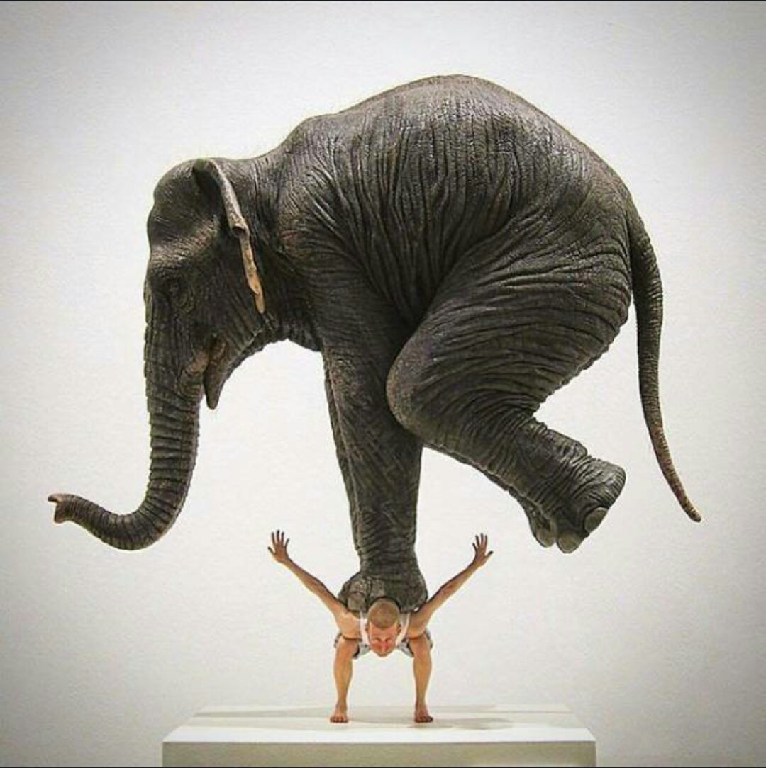 21 Physics-Defying Sculptures That Will Wrinkle Your Brain #5 | Brain Berries