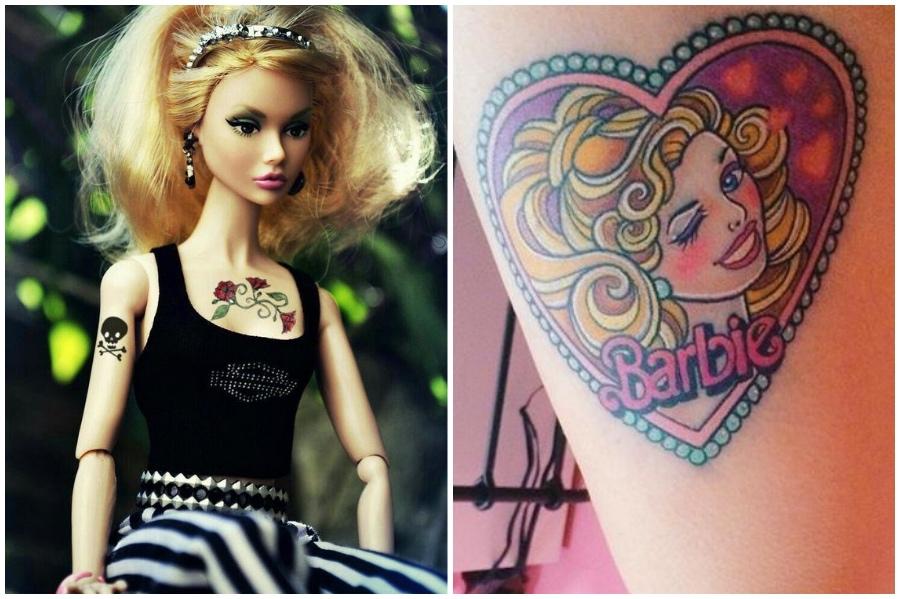 Há uma Barbie tatuada | 9 fatos surpreendentes sobre tatuagens que você provavelmente não sabia | Brain Berries