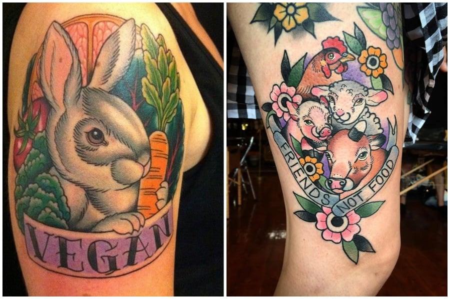 A maioria das tintas de tatuagem não é vegana | 9 fatos surpreendentes sobre tatuagens que você provavelmente não sabia | Brain Berries