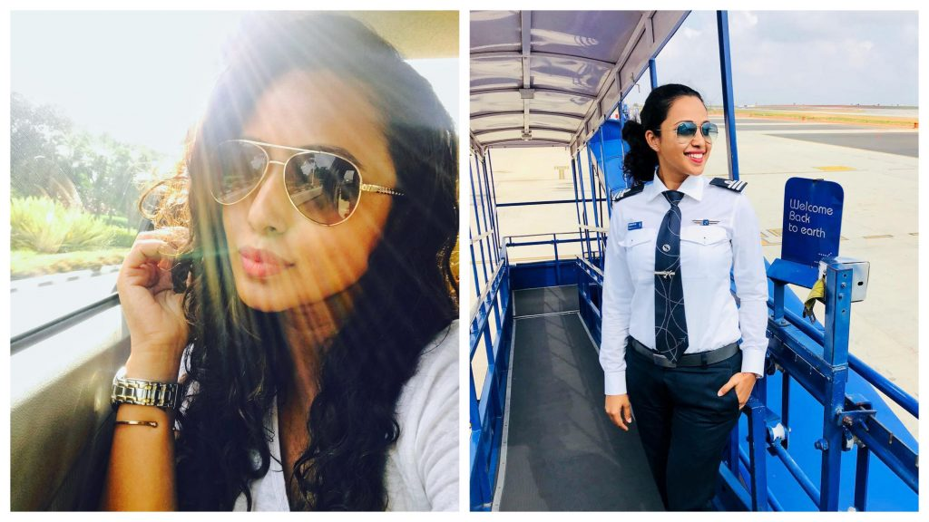 Indian Female Pilots On Instagram | ZestRadar