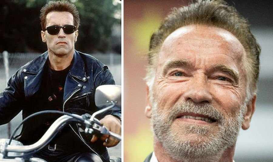 Arnold Schwarzenegger Then Now | Brain Berries