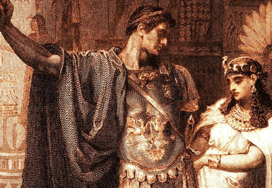Cleopatra and Mark Antony | BrainBerries