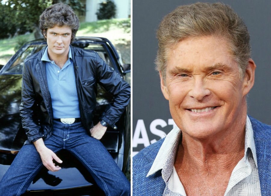 David Hasselhoff Then Now | Brain Berries