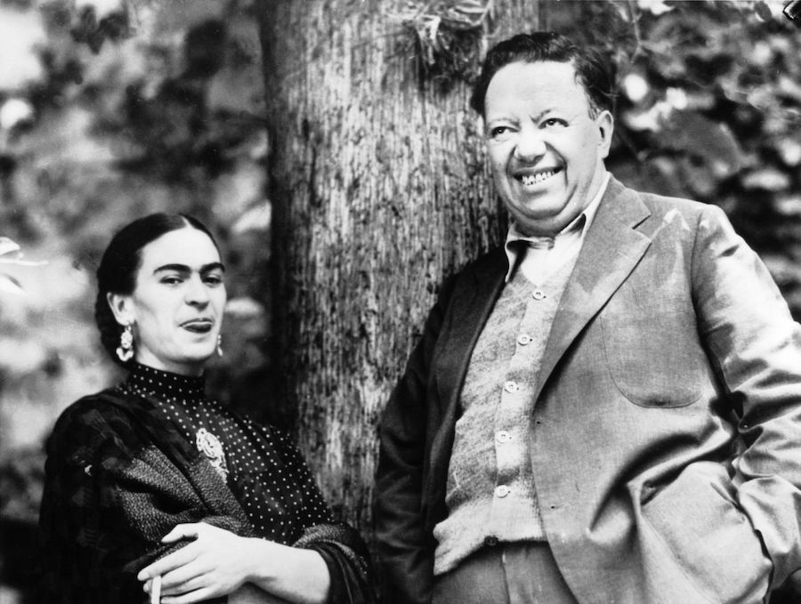 Frida Kahlo and Diego Rivera | Brain Berries