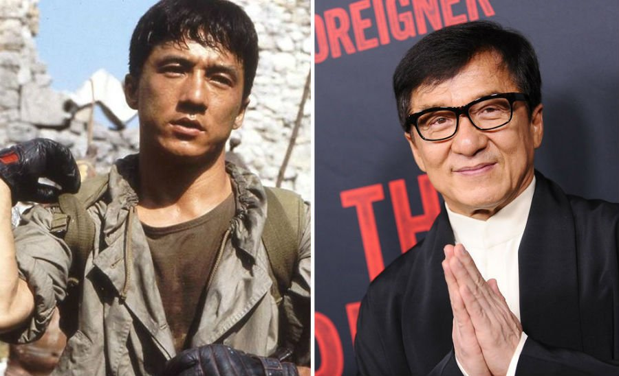 Jackie Chan Then Now | Brain Berries