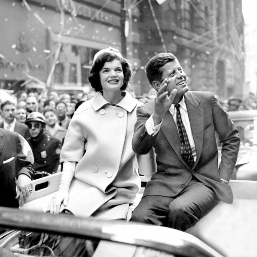 John and Jackie Kennedy | BrainBerries