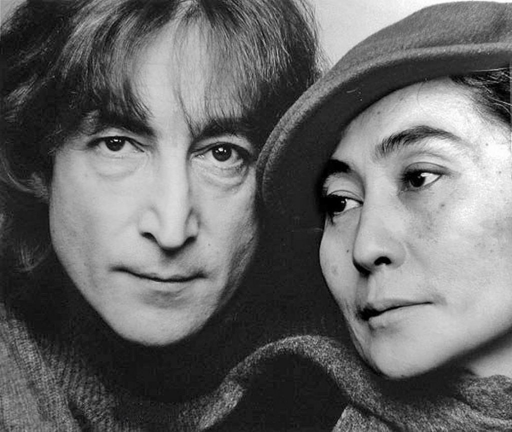 John Lennon and Yoko Ono | BrainBerries