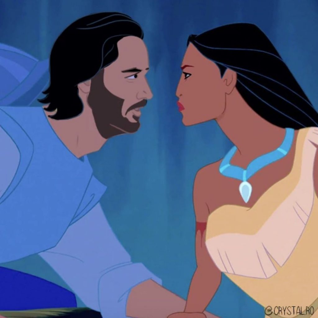 Keanu Reeves as John Smith | BrainBerries