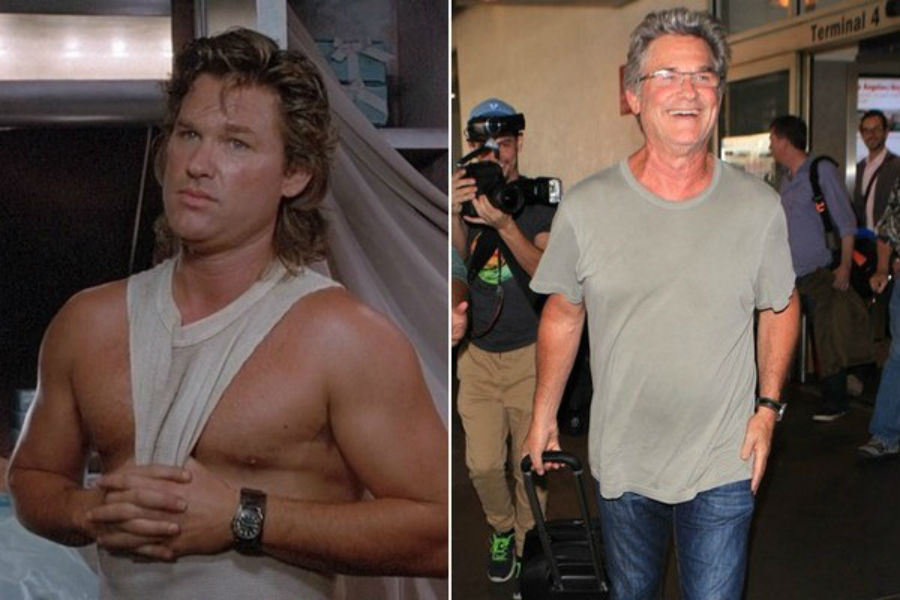 Kurt Russell Then Now | Brain Berries
