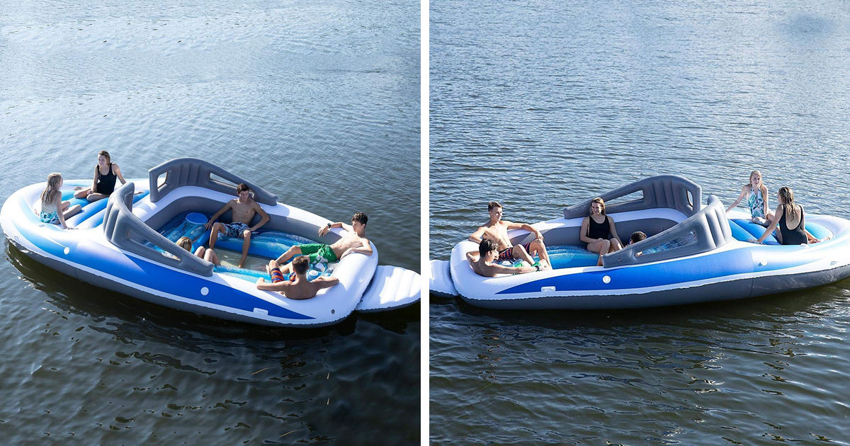 Amazon Is Selling A Life Sized Inflatable Speedboat And Why Aren T