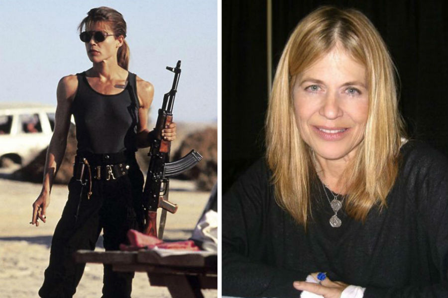 Linda Hamilton Then Now | Brain Berries