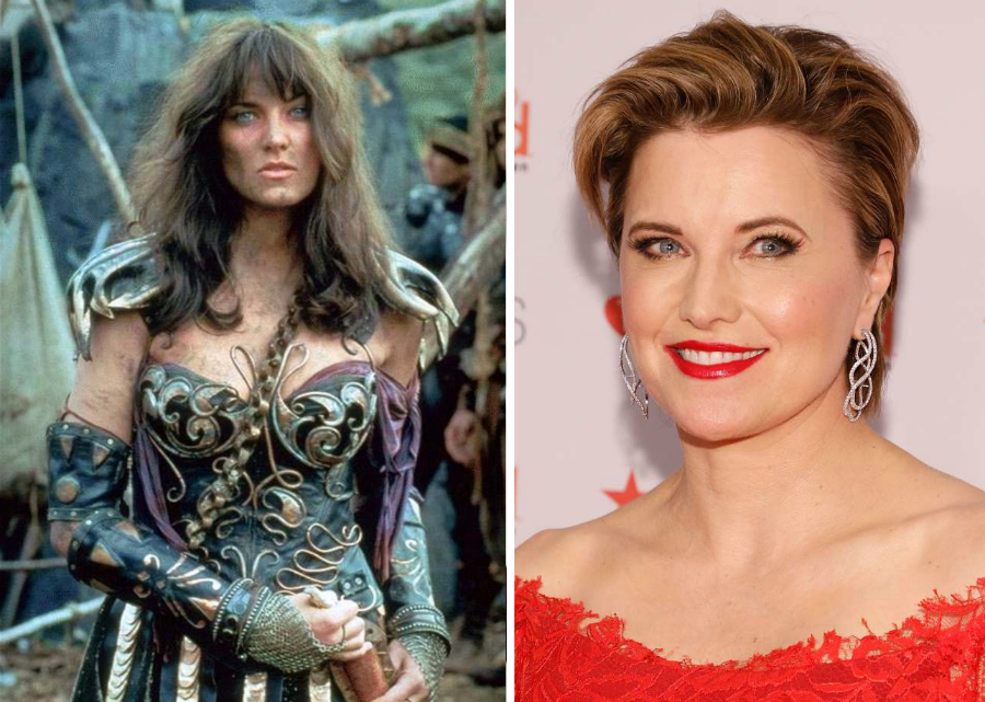 Lucy Lawless Then Now | Brain Berries