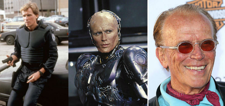 Peter Weller Then Now| Brain Berries